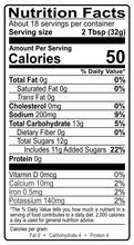 image of the Chile Slinger Trinidad Scorpion BBQ Sauce Nutrition Information